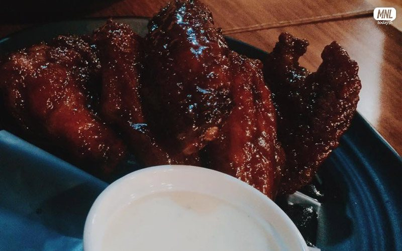 6pcs. Chicken Wings in Honey Barbecue flavor - P145