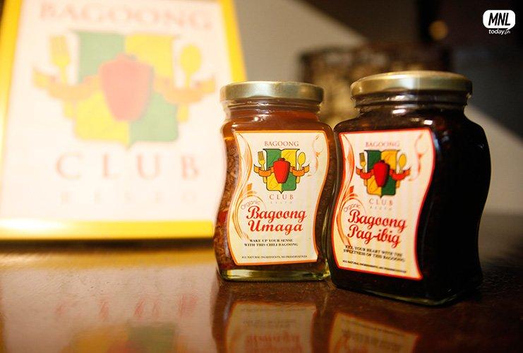 Bagoong Umaga (spicy) at Bagoong Pag-ibig (sweet)