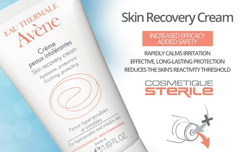 skin recovery cream sterile paraben free