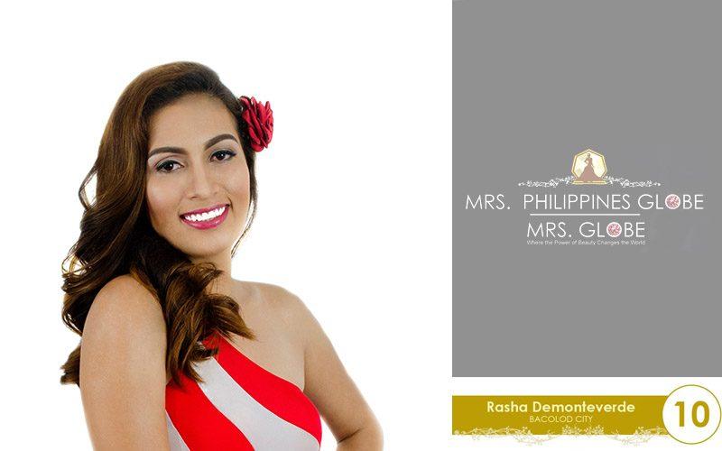 rasha demonteverde mrs philippines globe 2016