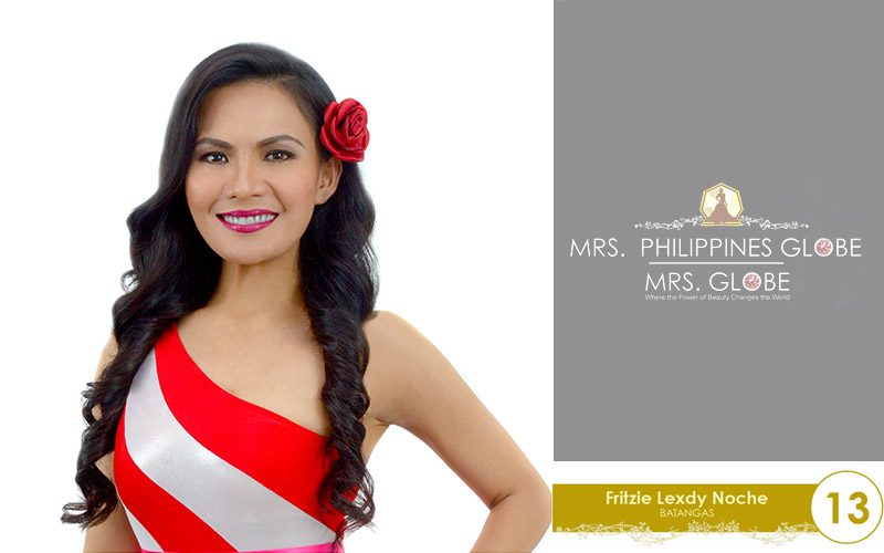 fritzie lexdy noche mrs philippines globe 2016