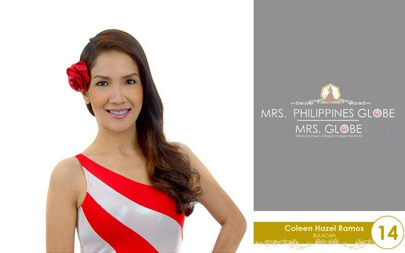 coleen hazel ramos mrs philippines globe 2016