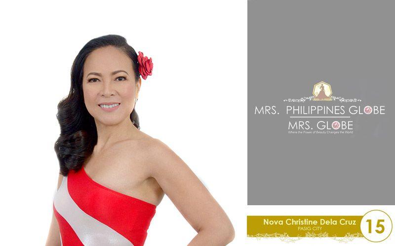 nova christine dela cruz mrs philippines globe 2016