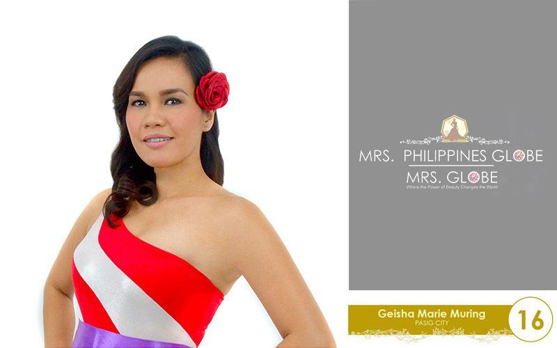 geisha marie muring mrs philippines globe 2016