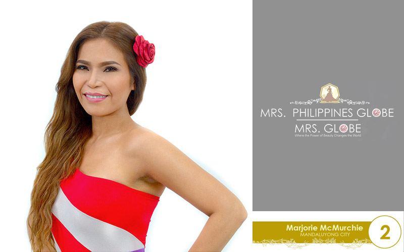marjorie mcmurchie mrs philippines globe 2016