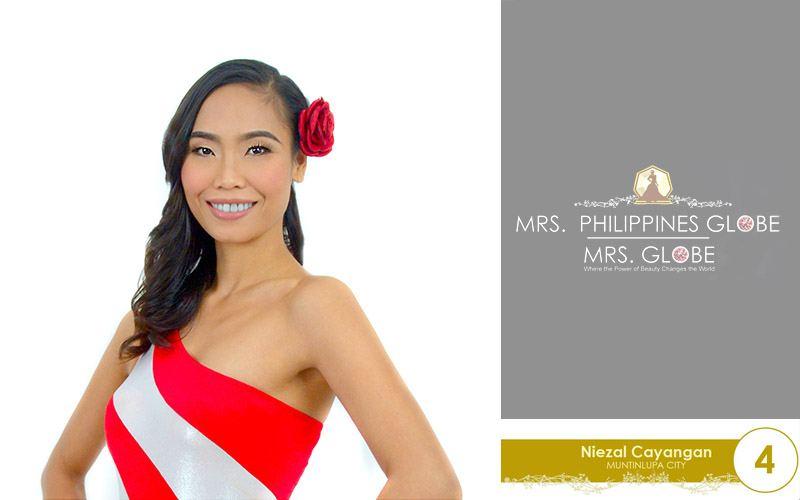 niezal cayangan mrs philippines globe 2016