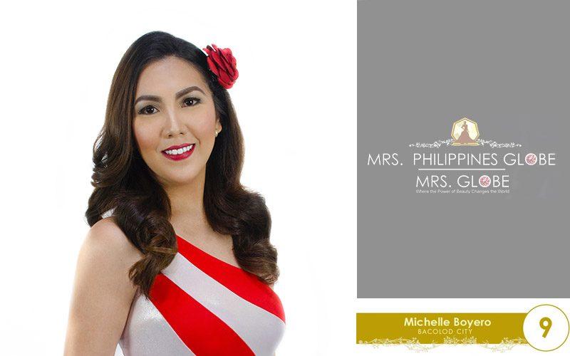michelle boyero mrs philippines globe 2016