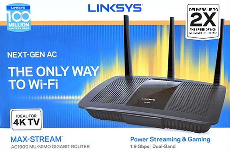 mu-mimo routers linksys maxstream
