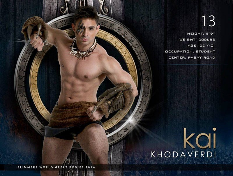 Kai Khodaverdi slimmers world great bodies 2016