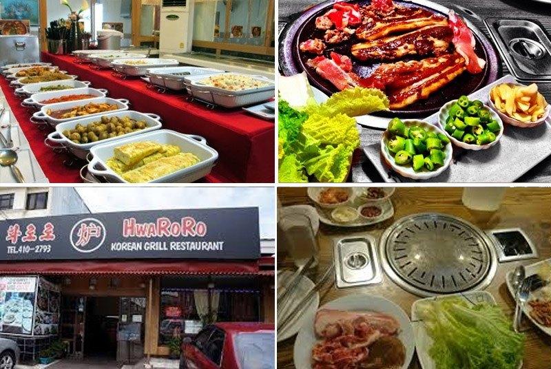hwaroro korean buffet and bbq
