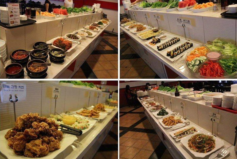matgalne korean buffet
