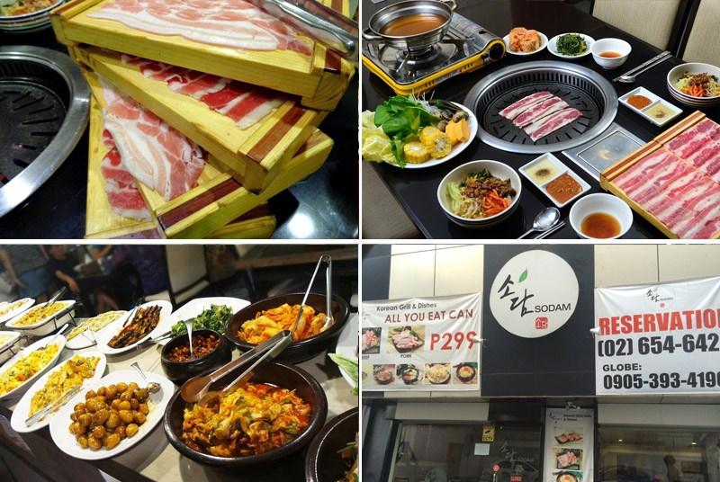 sodam korean buffet san juan
