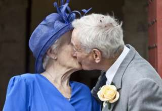 Humphries married 8 decades after