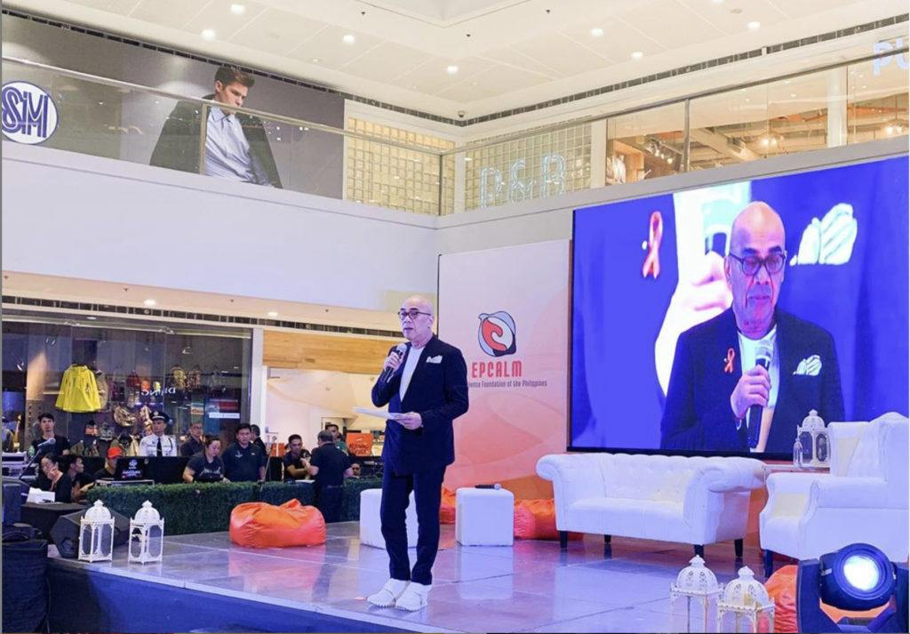 Boy Abunda speaks on Leukemia awareness.