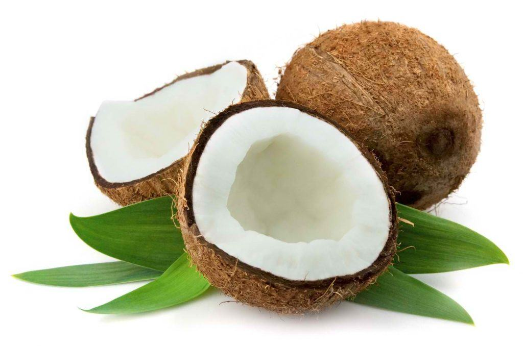 Coconut products are promoted for international export.