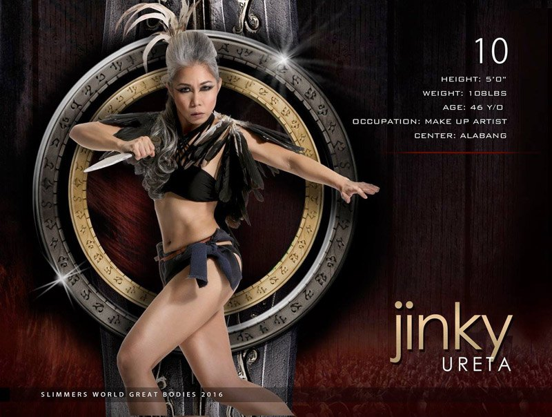 Jinky Ureta slimmers world great bodies
