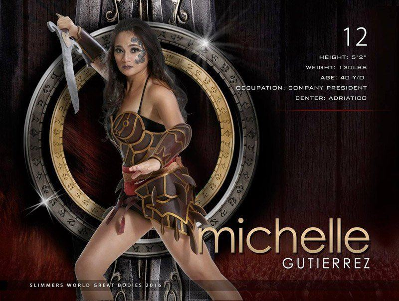 Michelle Gutierrez slimmers world great bodies 2016