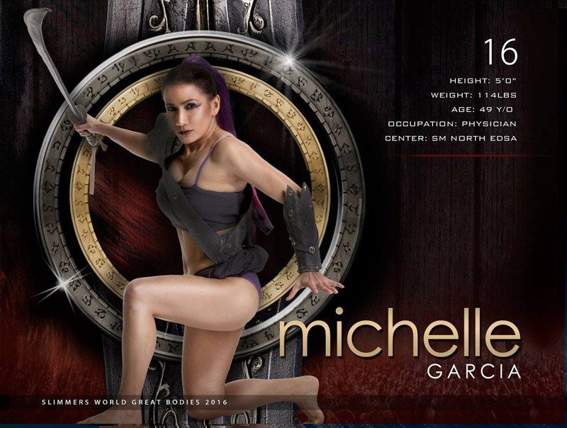 Michelle Garcia slimmers world great bodies 2016