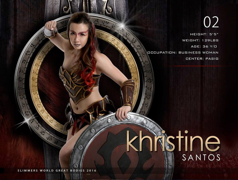 Khristine santos slimmers world great bodies