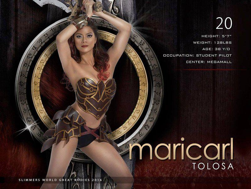 Maricarl Tolosa slimmers world great bodies 2016