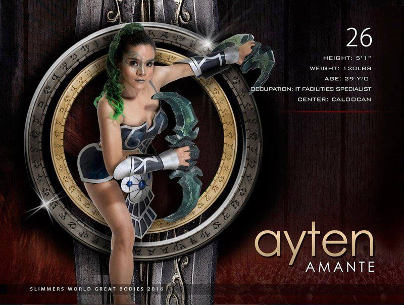 Ayten Amante slimmers world great bodies 2016