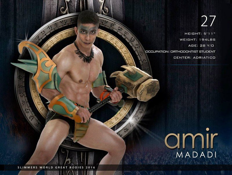 Amir Madadi slimmers world great bodies 2016