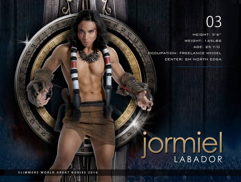 Jormiel Labador slimmers world great bodies