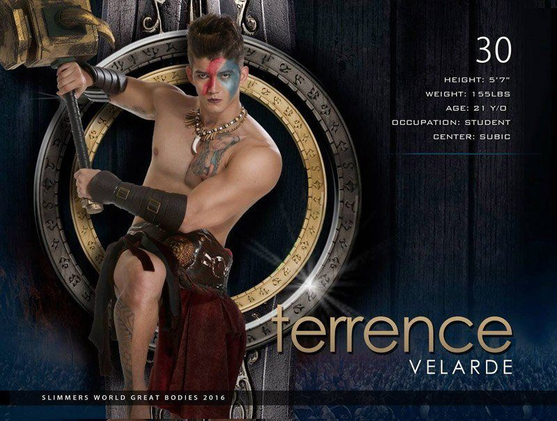 Terrence Velarde slimmers world great bodies 2016