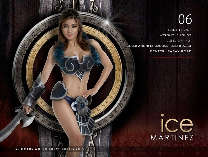 Ice Martinez slimmers world great bodies