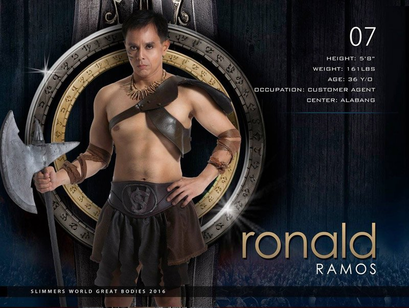 Ronald Ramos slimmers world great bodies