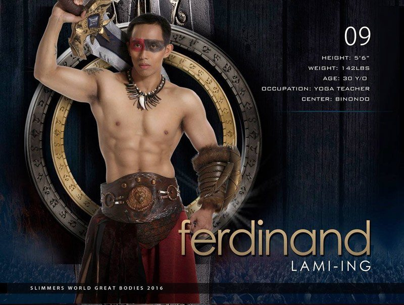 Ferdinand Lami-ing slimmers world great bodies