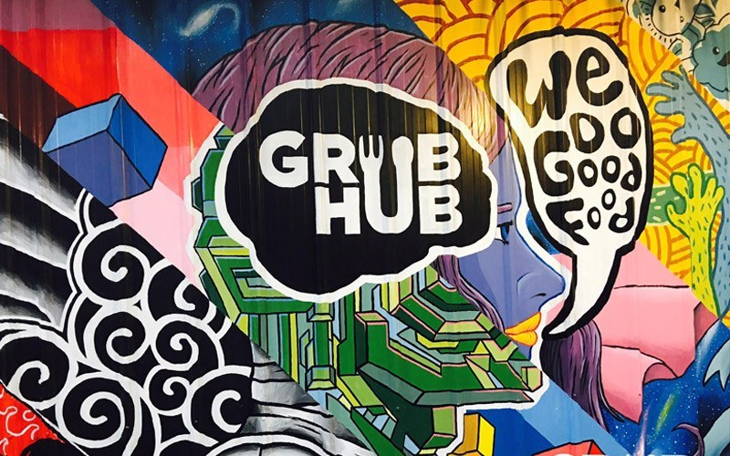 grub hub qc food park